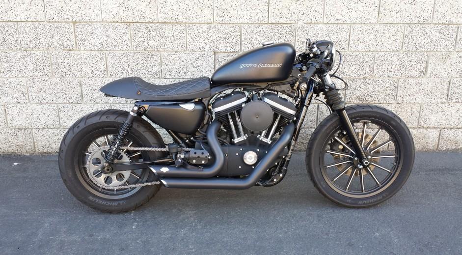 Extrêmement 2011 Harley Davidson Sportster Cafe Racer | Moto Chop Shop OV28